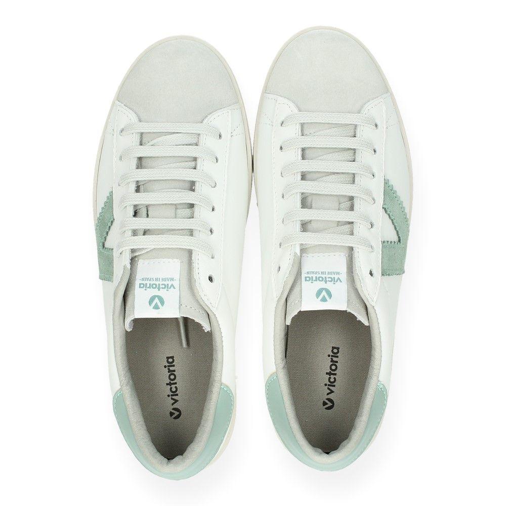 Van Victoria Witte Groen Sneakers Witte Witte Van Van Sneakers Victoria Sneakers Victoria Groen HWED29IY
