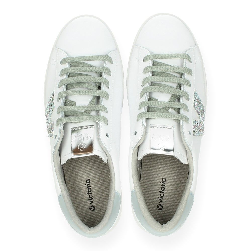 Sneakers Groen Sneakers Van Van Victoria Witte Witte WHDYebE29I