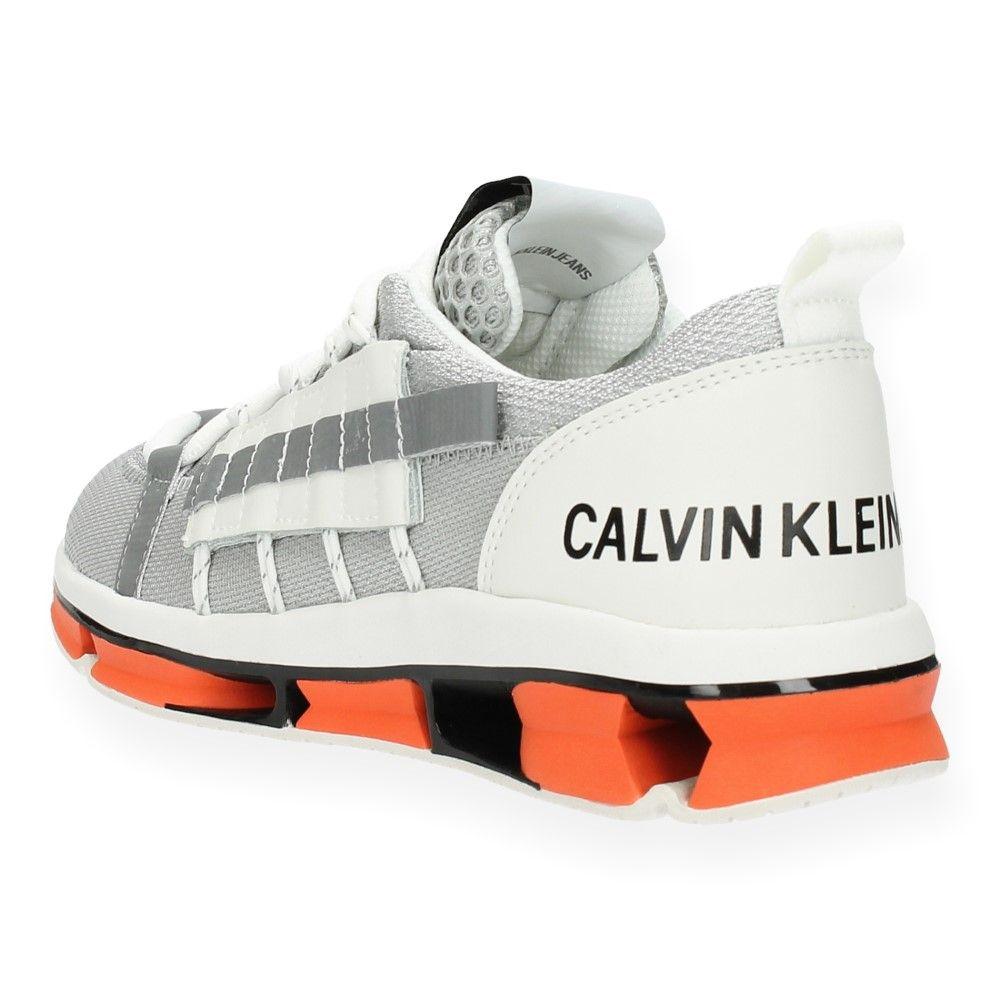 Zilver Jeans Calvin Van Grijze Baskets Klein N80vmnwO