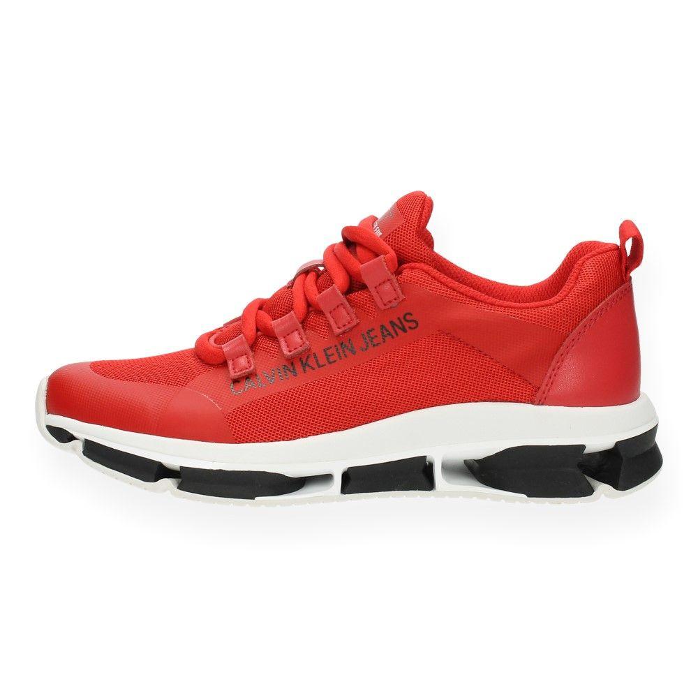 Van Sneakers Klein Rood Jeans Rode Calvin hrsQtd