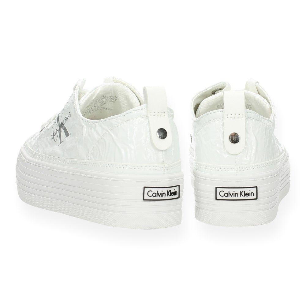 Van Witte Klein Wit Sneakers Jeans Calvin 5jq34LAR