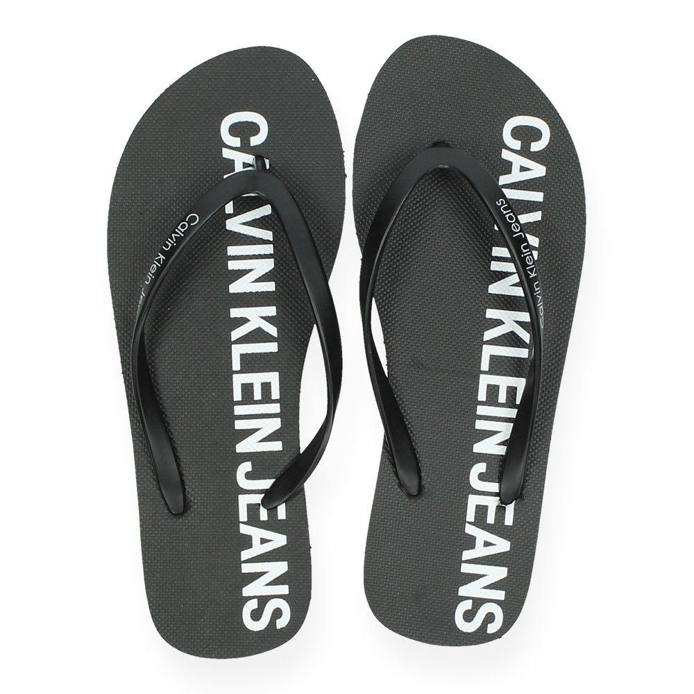 Teenslippers Klein Zwarte Jeans Zwart Van Calvin SUpMVqz