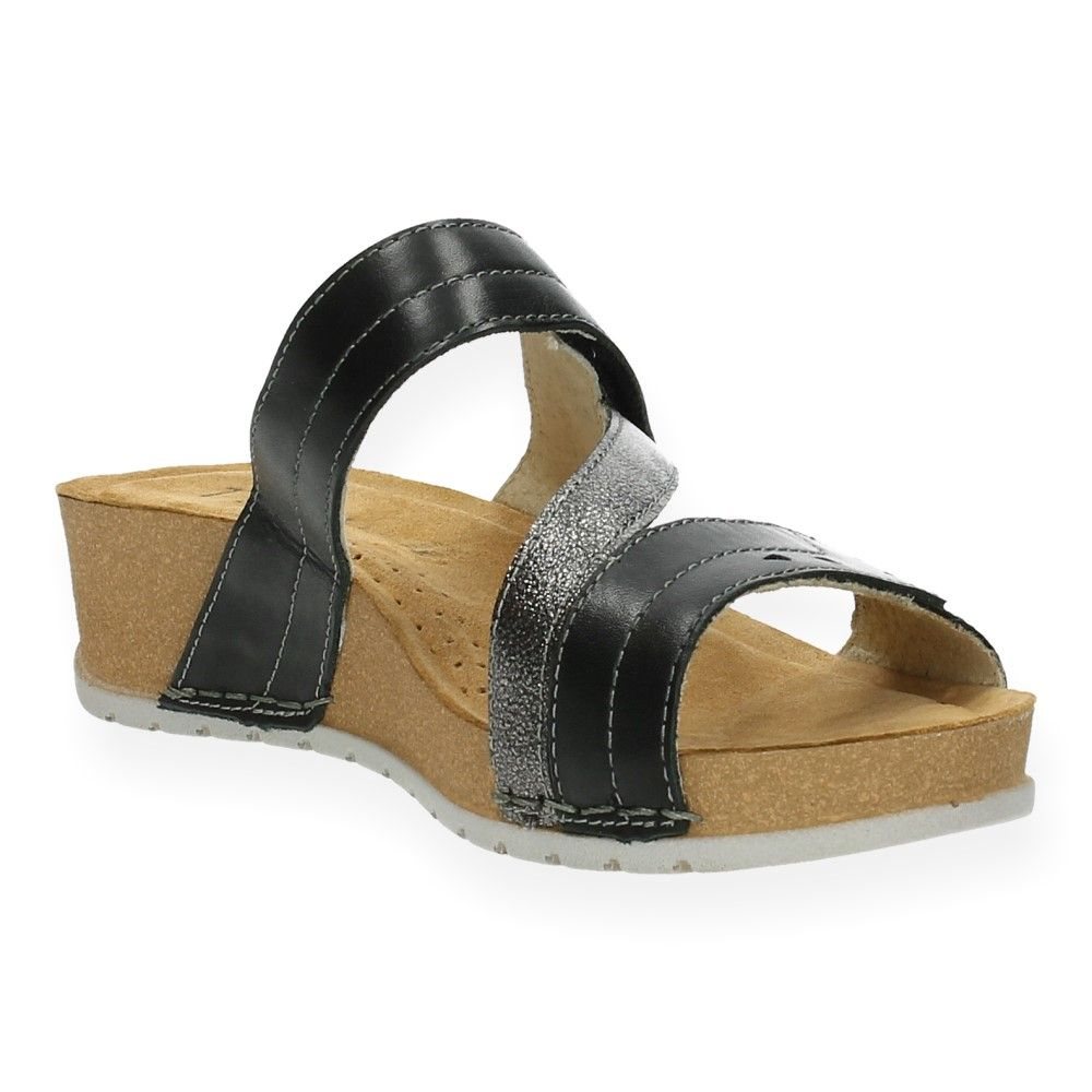 Van Papaya Zwart Slippers Zwarte Zwarte 7yvbf6Yg