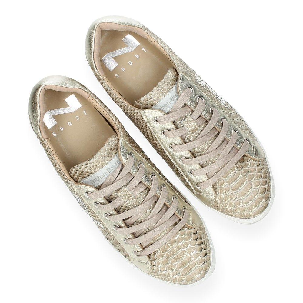 baume Van Sneakers Nathan Brons Slangenprint n0OP8kw