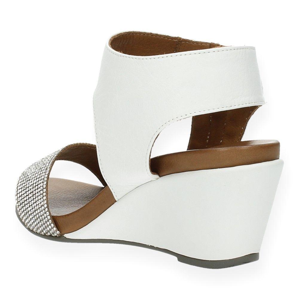 Met Van Ebl Sleehak Witte Sandalen By 8790 Wit amp;j J tdxQrshC