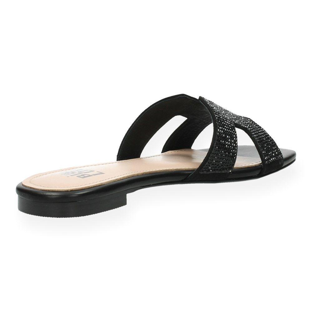 Slippers Van Bibi Zwarte Lou Zwart sdCrthQx
