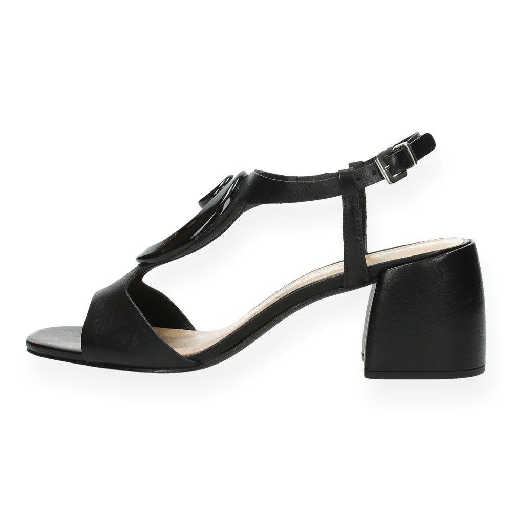 Zwarte Sandalen Zwart Met Van Hak Vicenza m8n0wN