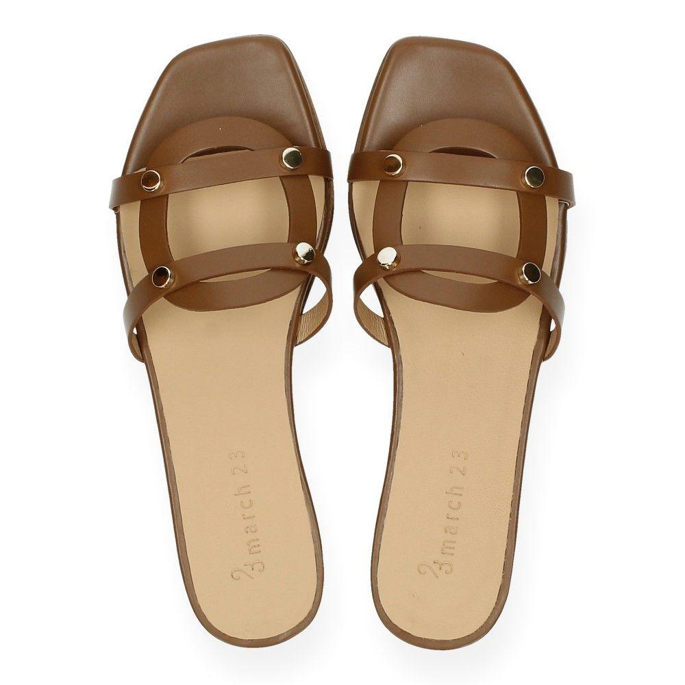23 Bruine Camel Van Slippers March txrsdChQ