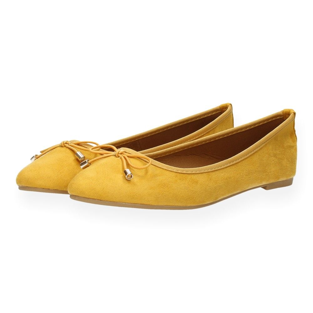 Gele Ballerina's Ballerina's Geel Shoecolate Gele Van mw8n0N