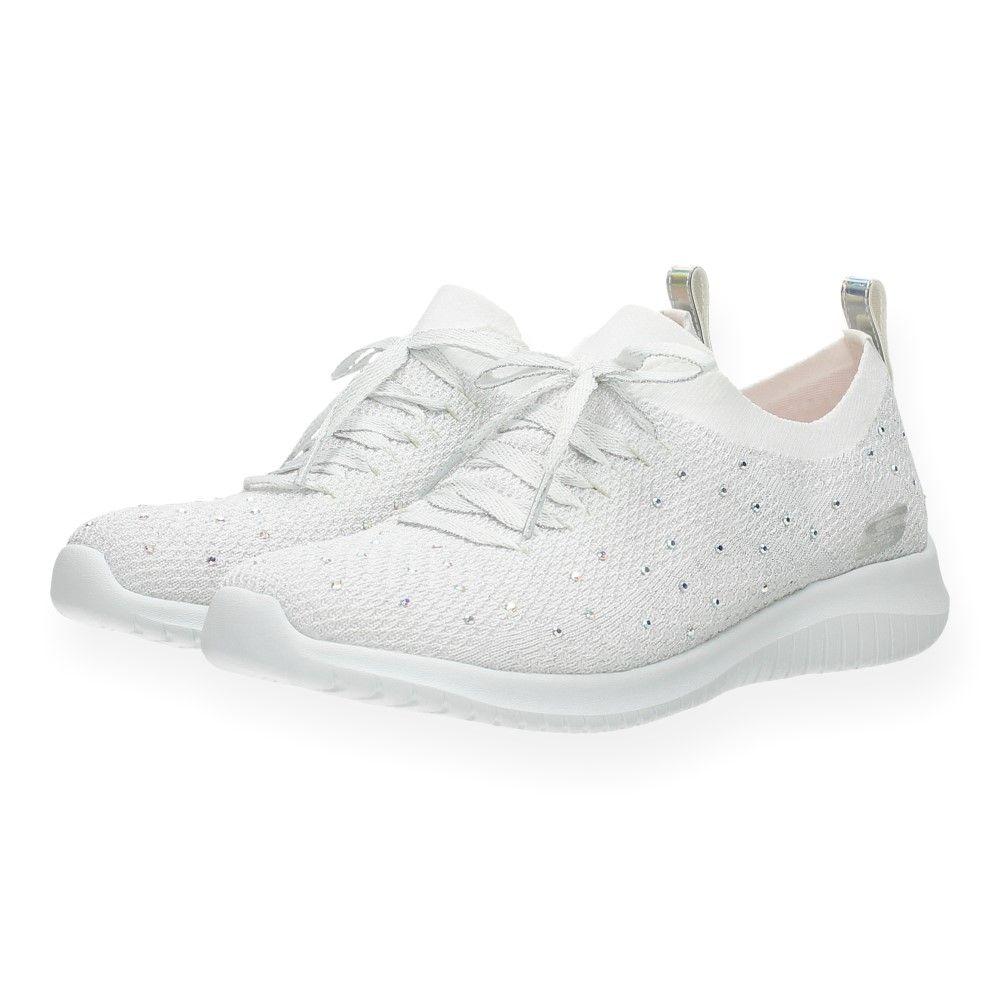 Witte Witte Wit Skechers Van Sneakers Sneakers Van N80mnwv