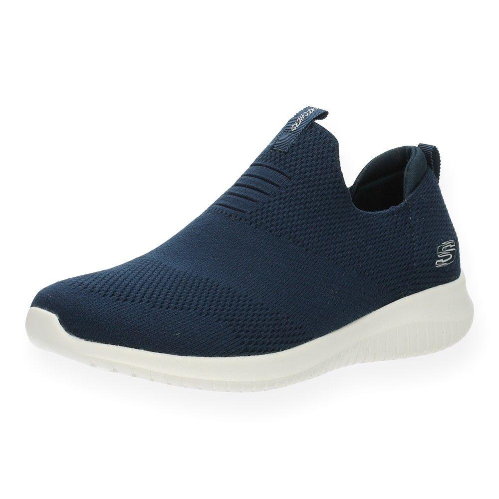Skechers Blauw Blauwe Navy Slip Van ons OZiTPkXu
