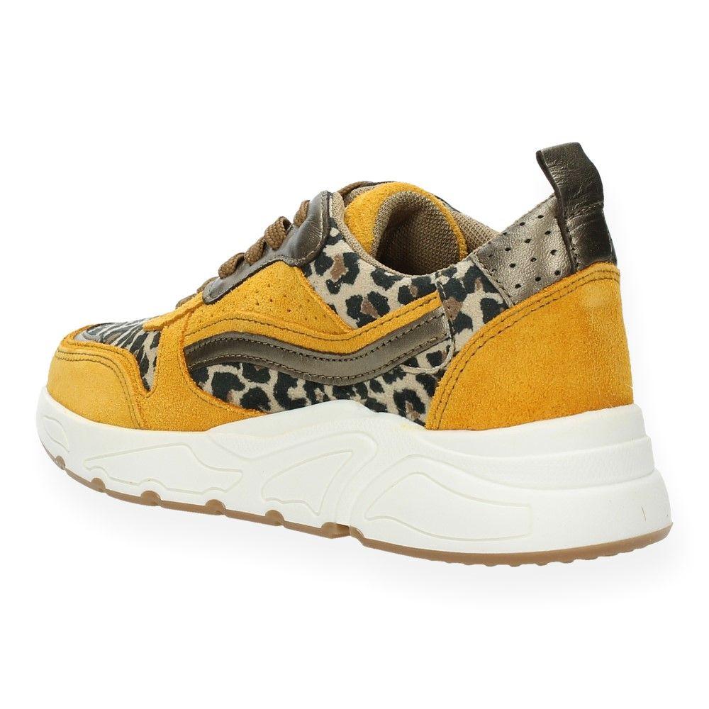 Sneakers Geel Van Ice Luipaardprint Hot EDH9IWYe2b