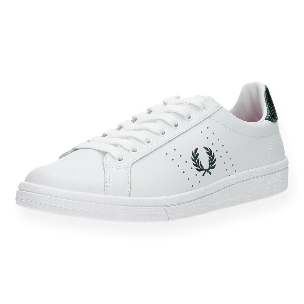 Witte Sneakers Van Fred Wit Perry zpSMVU