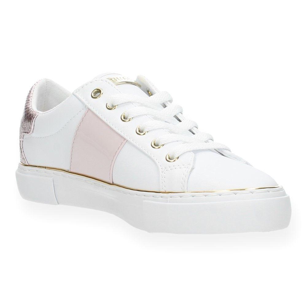 Roze Sneakers Sneakers Van Guess Guess Witte Roze Van Witte Y76yfbg