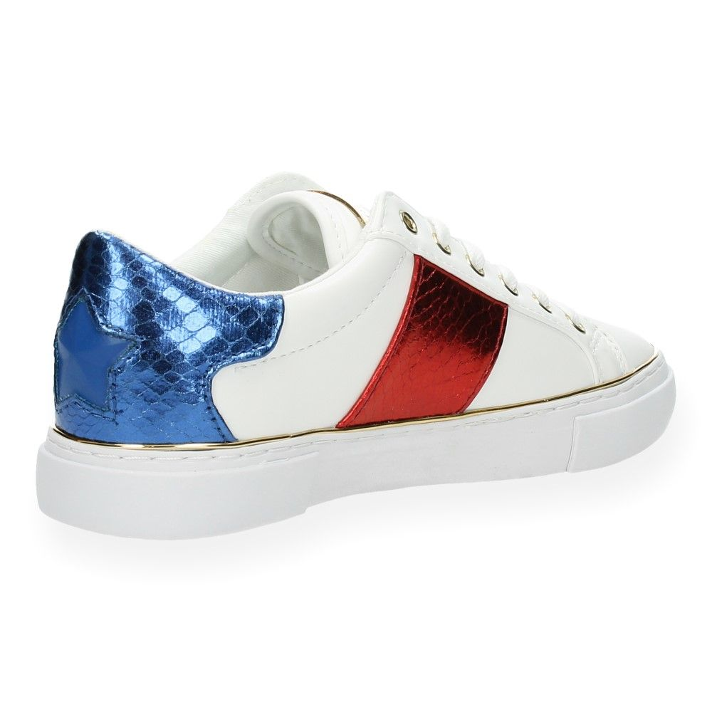 Van Sneakers Sneakers Guess Witte Van Rood Witte tQrdsh