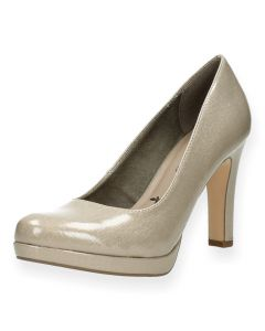 Beige pumps Tamaris