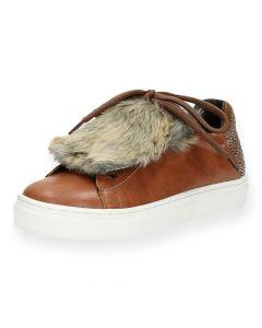 Cognac sneakers Kipling