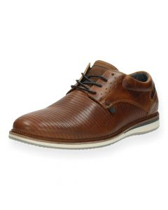 Cognac veterschoenen Surf