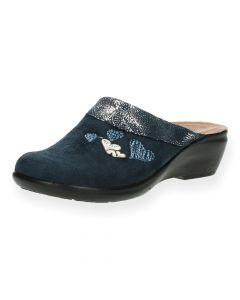 Blauwe pantoffels Fly Flot