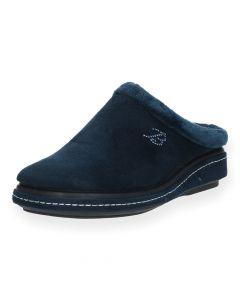 Blauwe pantoffels Vulcarini