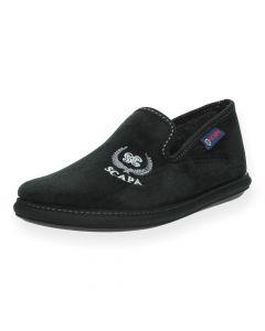 Zwarte pantoffels Scapa
