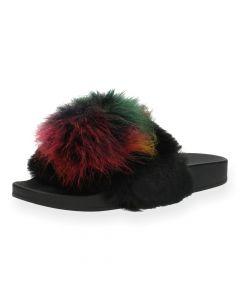 Multicolour slippers Steve Madden