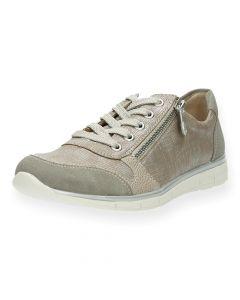 Beige sneakers