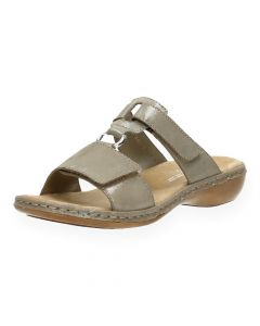 Taupe slippers