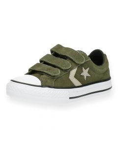 Groene sneakers Converse