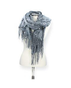 Blauwe sjaal Access