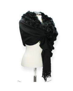 Zwarte sjaal Access