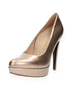 Metallic roze pumps