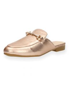 Roze loafers
