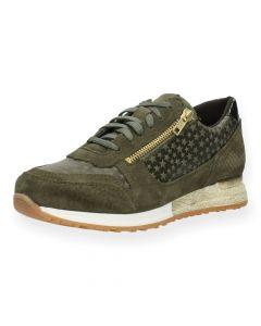 Groene sneakers Poelman