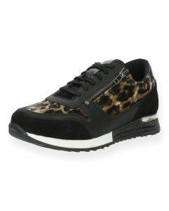Luipaardprint sneakers Poelman