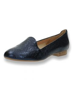 Blauwe loafers