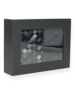 Zwarte kousen Calvin Klein - Cadeaubox