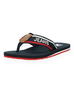 Blauwe slippers