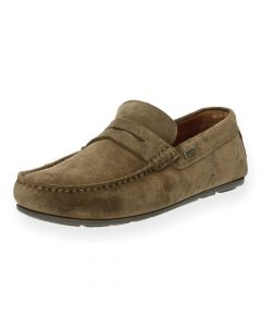 Taupe mocassins