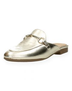 Gouden loafers