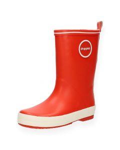 Rode regenlaarzen