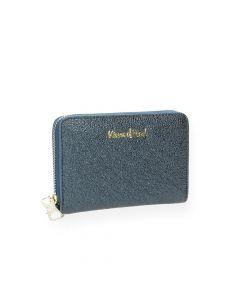 Blauwe portefeuille