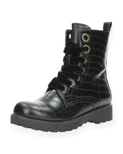 Zwarte bottines