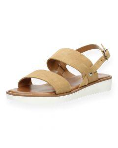 Beige sandalen