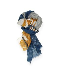Multicolour sjaal
