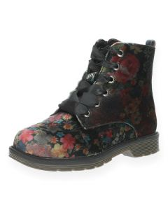 Bloemenprint bottines