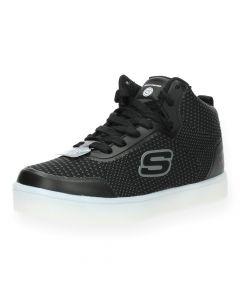 Zwarte sneakers met lichtjes
