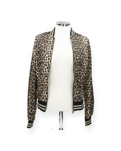Luipaardprint blazer